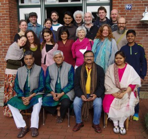 Shibir 2017, Germany: Group photograph of participants